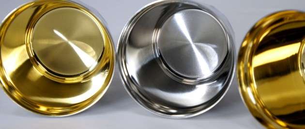 Metal polishing of technology