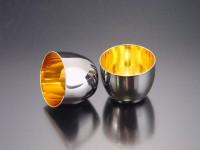 Large sake cup(24-carat gold)